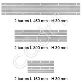 Barres de suspension en Z