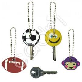 Têtes de clés fantaisies - Lot de 4