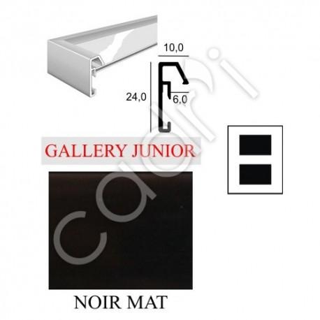 Cadre Aluminium Standard Nielsen Gallery Junior Multivues