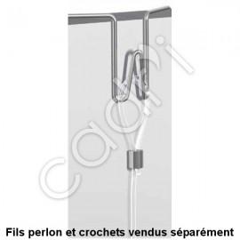 Crochets Flexibles pour Panneaux d'Exposition