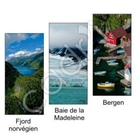 Marque-Page Magnétique Thème La Norvège