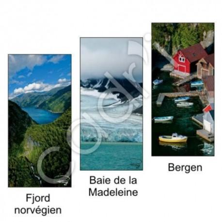 Marque-Page Magnétique - Thème La Norvège
