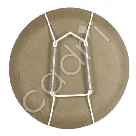 Accroche-Assiette Blanc