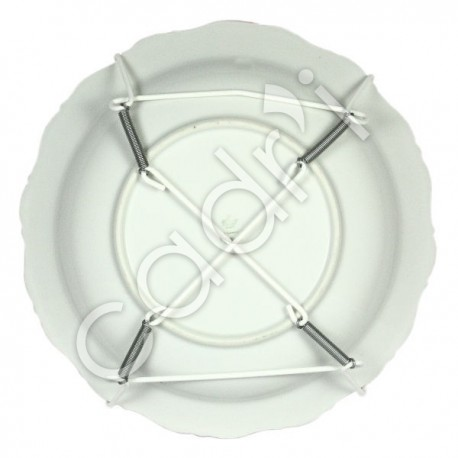 Accroche plats blancs for Accroche assiette mural