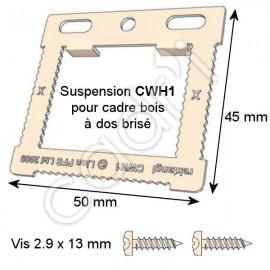 Suspension CWH1 pour Cadre Bois à Dos Brisé