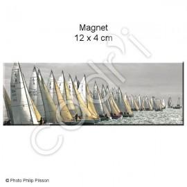 Magnet Régates en baie de Quiberon