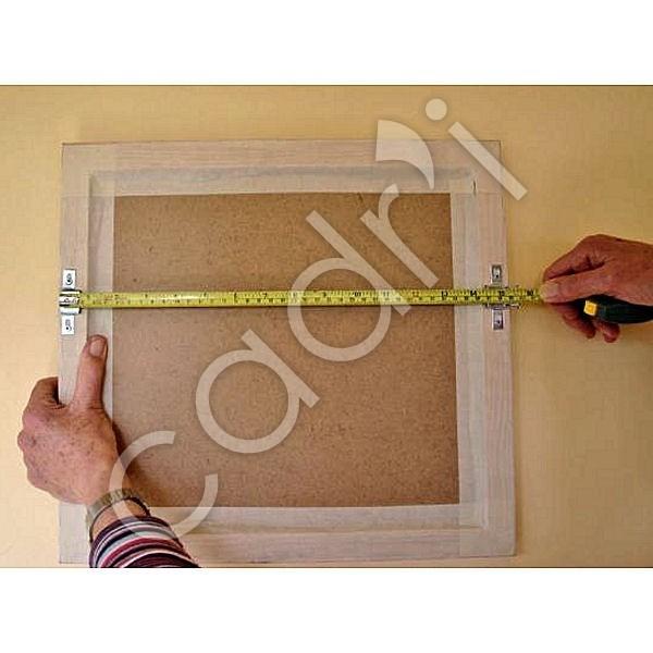 accrochage de s curit pour cadres baguette bois 2 verrous. Black Bedroom Furniture Sets. Home Design Ideas