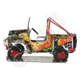 Jeep en Alu de Récup - Modèle 2