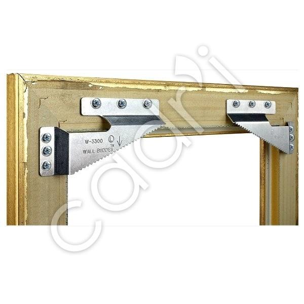 syst me d accrochage et de mise niveau pour cadre bois 30 kgs. Black Bedroom Furniture Sets. Home Design Ideas