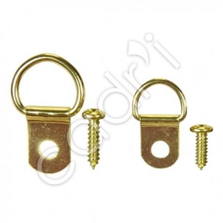 Attaches D-Rings Laitonnées - Modèle Standard et Petit Modèle