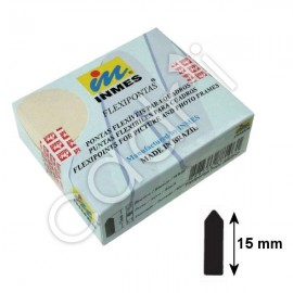 Pointes Flexibles 15 mm x 0,40 mm
