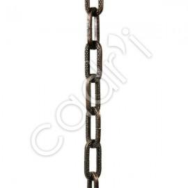 Chaîne Décorative Maille Figaro Bronze 8 Kgs