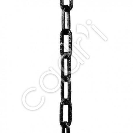 Chaîne Décorative Maille Figaro Noire 8 Kgs