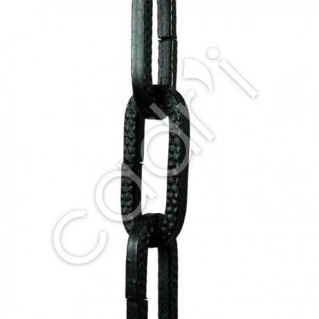 Chaîne Décorative Maille Figaro Noire 32 Kgs