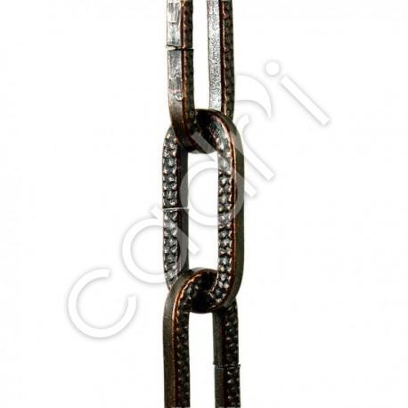 Chaîne Décorative Maille Figaro Bronze 32 Kgs