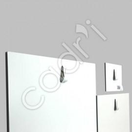 Crochets magnétiques muraux en acier