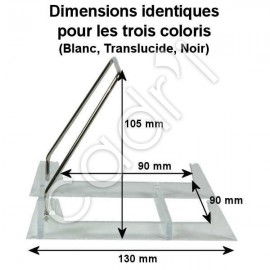 Chevalet Pliant Socle Plexiglass