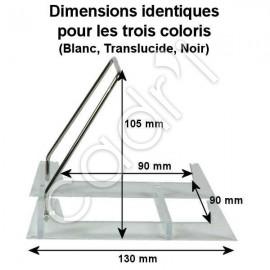 Chevalet Pliant Socle Plexiglass