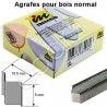 Agrafes en V INMES 5 mm pour Assemblage Cadres Bois