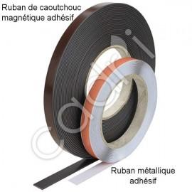 Ruban Magnétique et Ruban Métallique Auto-Adhésifs
