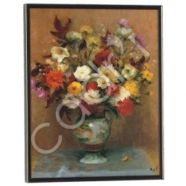 Bouquet de Dahlias, Marcel Dyf - 291x235 mm