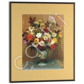 Bouquet de Dahlias, Marcel Dyf - 370x320 mm