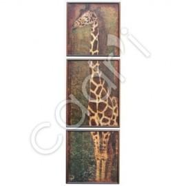 Girafe Massaï, Fabienne Arietti - 996x300 mm