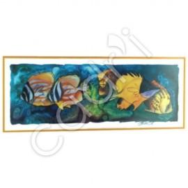 Aquarium 2, Hettie Saaiman - 1017x414 mm